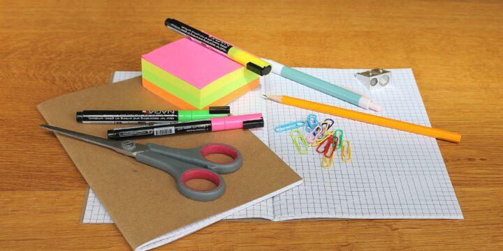 Obavijest o financiranju radnih bilježnica, materijala za tehnički i likovnih mapa
